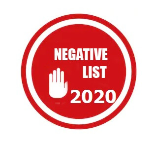 China Negative List for Foreign Investment 2020 – English Version
