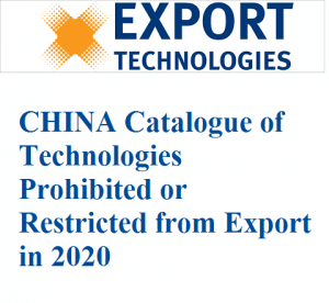 China revised the Catalogue Technologies Prohibited or Restricted from Export