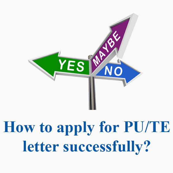 The real cases for PU Invitation Letter Application in China